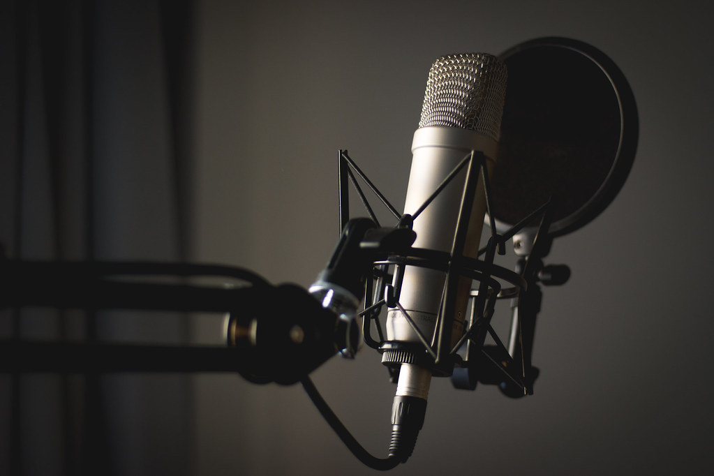 این میکروفون منتظر شماست!