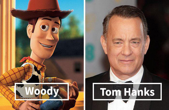 گویندگی تام هنکس به جای وودی در انیمیشن داستان اسباب بازی ها