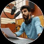 سید علی صالحی، مشتری راضی آکادمی گویندگان